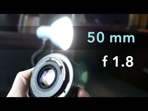 Обзор объектива Canon 50 Mm F1.8 – Киношная картинка за 50$
