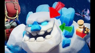 BUYING THE NEW ICE GOLEM TROOP ...5000 MILES AWAY FROM HOME :(