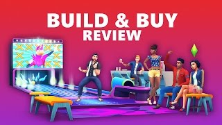 The Sims 4 Bowling Night Stuff Pack | Build / Buy / Gameplay Review