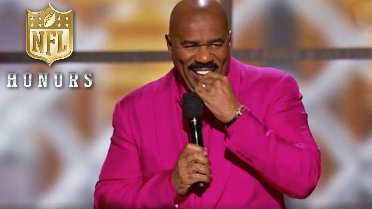 Download Steve Harvey Fixes All of Football's Problems in Opening Monologue   2020 NFL Honors