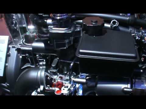 Mercedes-Benz CGI Engine demonstration