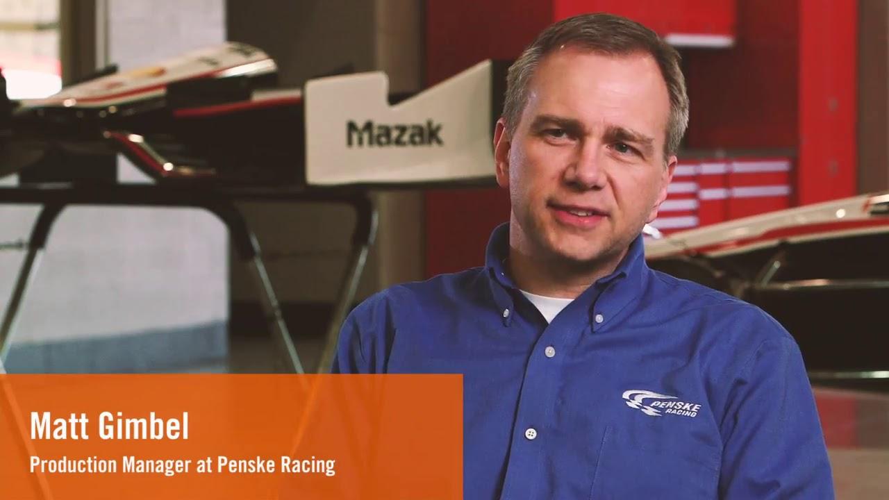 Discover More With Mazak Results Series: Episode 9 - Penske Racing  Mazak  North America 04:18 HD