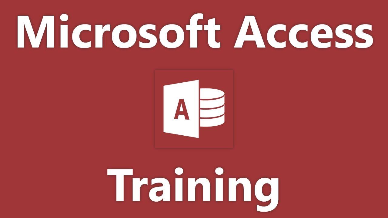 Access 2016 Tutorial Getting External Data Microsoft Training
