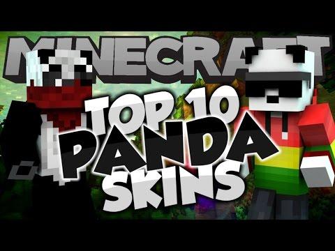 Top 10 Minecraft PANDA SKINS! - Best Minecraft Skins