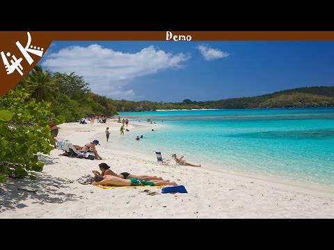ST. John U.S. Virgin Islands 4K (Demo) - 4K Central