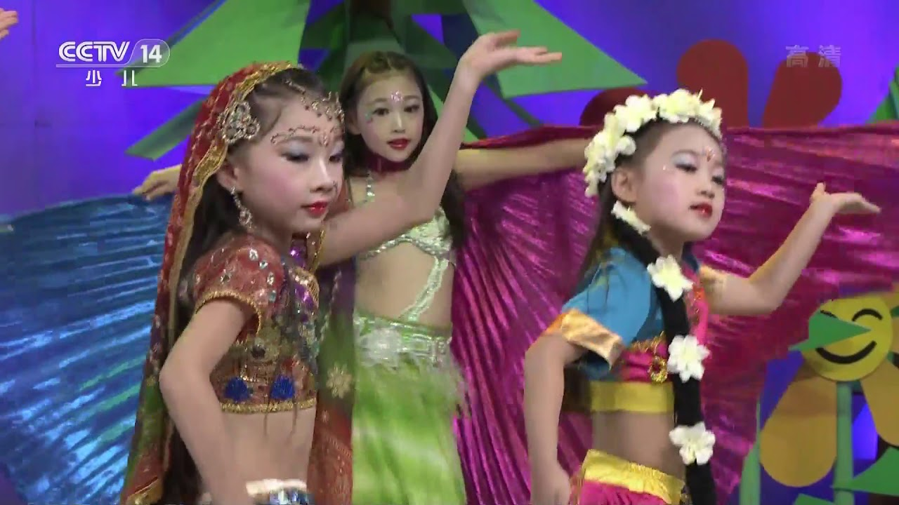 [英雄出少年]舞蹈《印度女孩》 | CCTV少儿