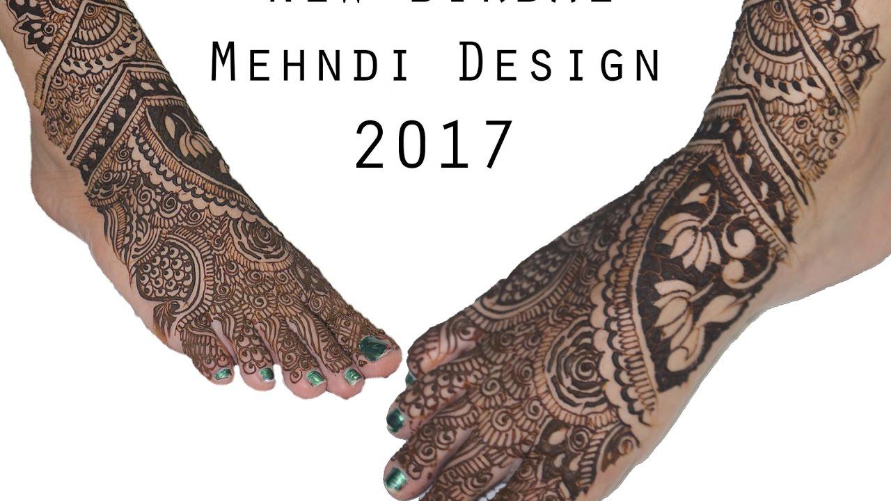Mehndi design 2017 for bride - Bridal Leg Mehndi Design Latest Leg Mehndi 2017 Viral Lifestyle