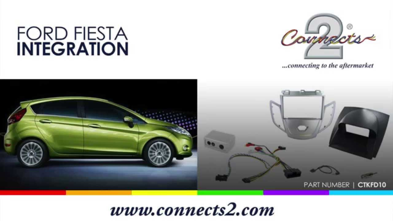 Ford Fiesta 2012 Integration Kit Part 1 Youtube Wiring Harness Numbers