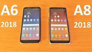 Samsung Galaxy A6 Vs Galaxy A8 Speed Test