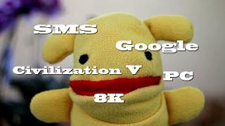Приколы. Новости. SMS реклама. Google поиск. Сivilization 5 free. PC. 8K. Android TV.