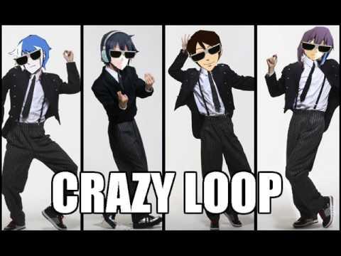 【松田っぽいよ・ロン・Toby・ルコ♂】 Crazy Loop 【UTAUカバー】