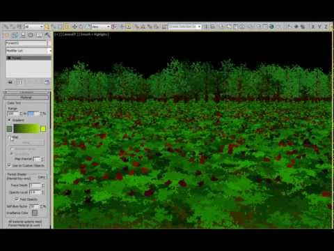 Forest Pack features - Tint Variations
