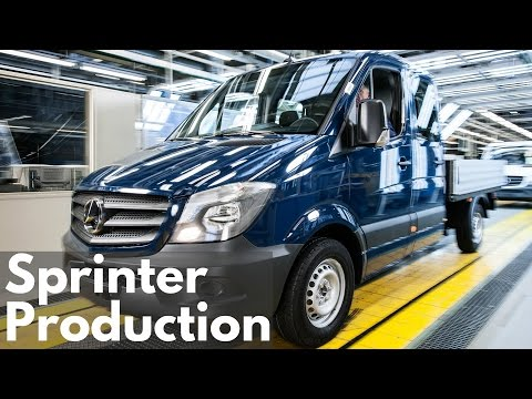 Mercedes-Benz Sprinter Production