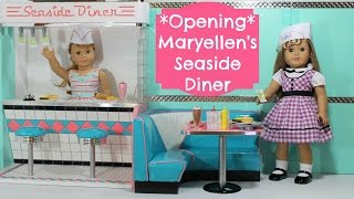 American Girl Seaside Diner Opening, Review, Setup!