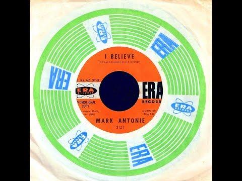 Mark Antonie - I BELIEVE  (Gold Star Studio)  (1963)
