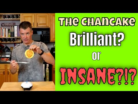 My Next Keto Chaffle Experiment:  The Chancake