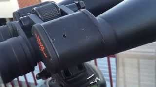 How to collimate Celestron Skymaster 15x70 binoculars