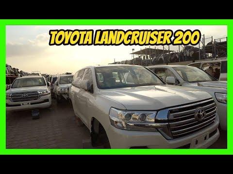 Авторазборки в Дубай. Toyota LC200. ПРОСТО ДИЧь!!!