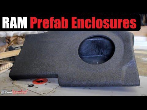 Dodge Ram Sub Enclosures Vehicle Specific Enclosures Part 2 (Atrend)