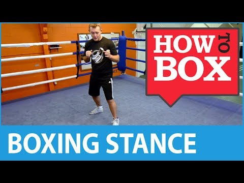 The Boxing Stance - How to Box (Quick Video)