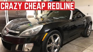 I BOUGHT The CHEAPEST Saturn Sky REDLINE In The Nation And It's FAST
