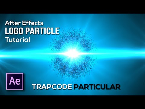 After Effects - 3D Particle Logo Build with Trapcode Particular