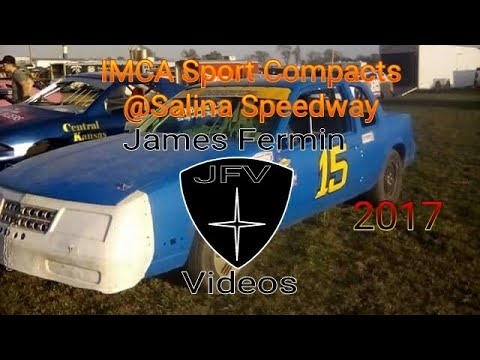 IMCA Sport Compact #3, Heat, Salina Speedway, 2017