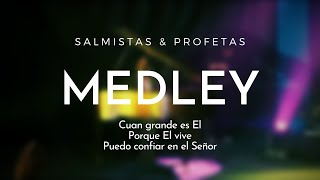 "DVD ""TU HAS SIDO BUENO"" Salmistas & Profetas - Medley de la Vida Cristiana"