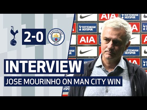 INTERVIEW | JOSE MOURINHO ON MAN CITY MASTERCLASS | Spurs 2-0 Man City
