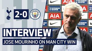 INTERVIEW | JOSE MOURINHO ON MAN CITY MASTERCLASS | Spurs 2-0 Man City