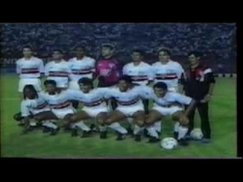 1991 - SÃO PAULO CAMPEÃO PAULISTA - CAMPANHA