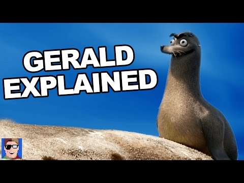 Finding Dory's Gerald Explained