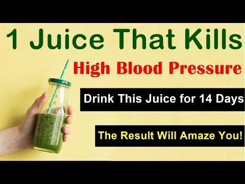 Best Vegetable Juice For High Blood Pressure - 1 Juice That Kills High Blood Pressure