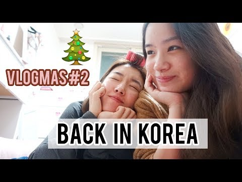 REUNITED WITH SUNNYDAHYE 💖💖First Day In Korea Vlogmas #2