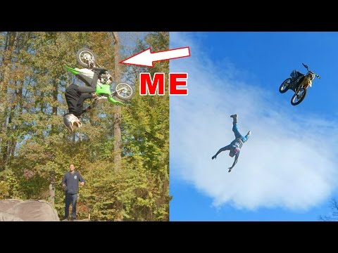 Thumbnail: INSANE BACKFLIP CHALLENGE!! With Travis Pastrana