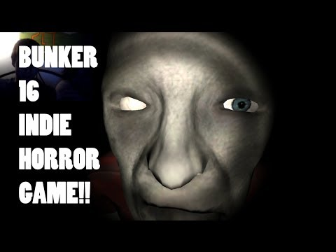 BROTHERS PLAY BUNKER 16! - NEW INDIE HORROR - JUMPSCARES