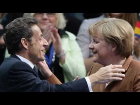 Merkel og Sarkozy