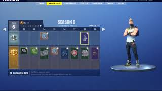 All the *NEW* Dances Emotes in Battle Pass Season 5 in Fortnite Battle Royale