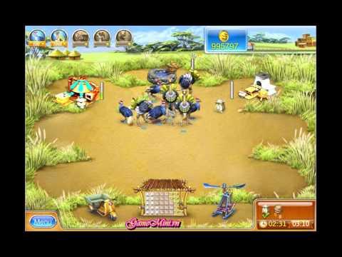 Game nông trại vui vẻ 3 - chăm sóc và thu hoạch