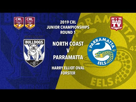 2019 Country Rugby League Rep - Johns and Daley Cup - Round 1- Bulldogs v Eels