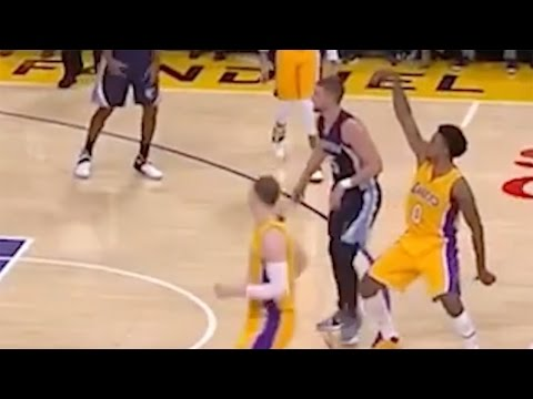 """Nick Young Gets His """"Swaggy"""" Status Back, Humps the Air to Celebrate 3 Pointer"""