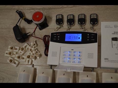 GSM сигнализация G2B. Полный обзор. Охранная система для дома