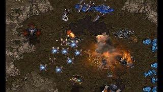 IdrA (T) v Qkdtlgur (P) on Fighting Spirit - StarCraft  - Brood War REMASTERED