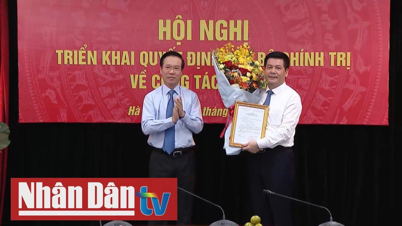 Đồng chí Nguyễn Hồng Diên giữ chức Phó Trưởng Ban Tuyên giáo Trung ương
