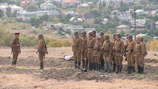 На Мамаевом кургане прошел военно-исторический фестиваль «Они сражались за Родину!»