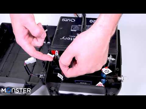 How To Replace The Batteries In A Golden LiteRider Battery Box