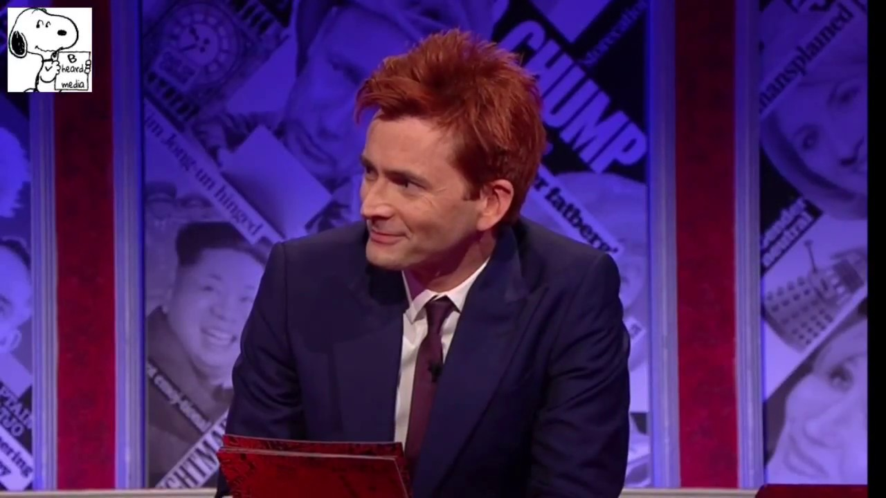 David Tennant destroys the Tories on Have I got news for ...