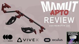 MAMUT APTO REVIEW    Carbon Fibre VR gunstock   ONWARD - PAVLOV