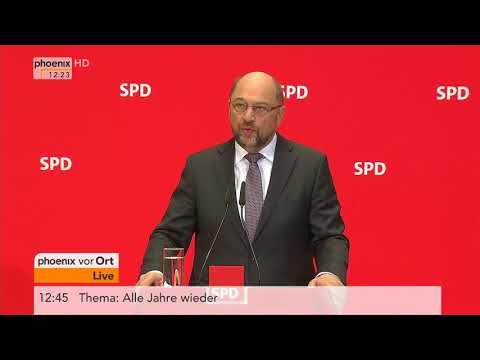 Statement von Martin Schulz zum Treffen mit Bundespräsident Steinmeier am 01.12.17