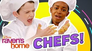 Let's be Chefs👨‍🍳 | Do It Duo | Raven's Home | Disney Channel